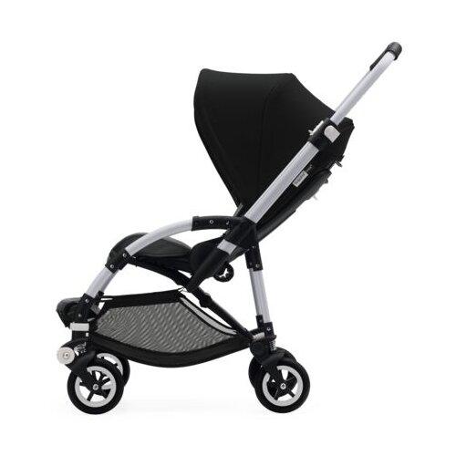 Прогулочная коляска Bugaboo Bee⁵ Alu/Black/Black, цвет шасси: серебристый