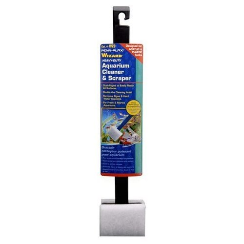 Скребок для аквариума Penn-Plax WZ9 1 шт. черный/белый penn plax переноска клетка penn plax для грызунов и птиц большая