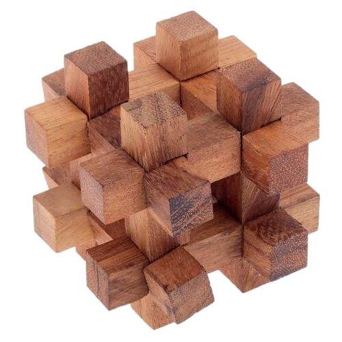 Головоломка Sima Toys Кубик (1488960) коричневый