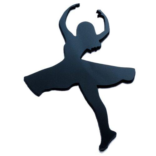 Наклейка на выключатель DS Studio Балерина, объемная