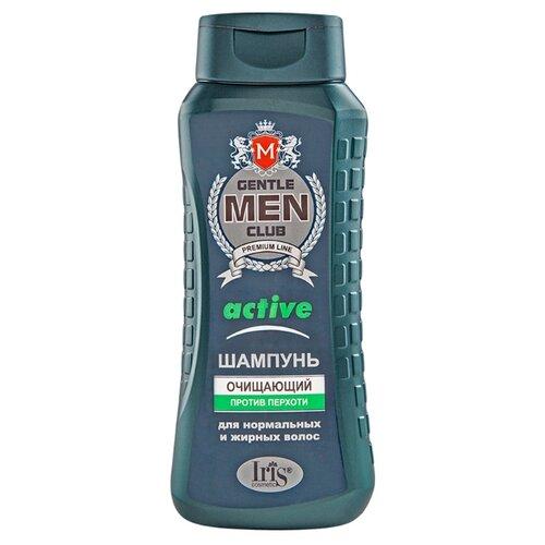IRIS cosmetic шампунь Gentle Men Club active очищающий против перхоти 400 мл