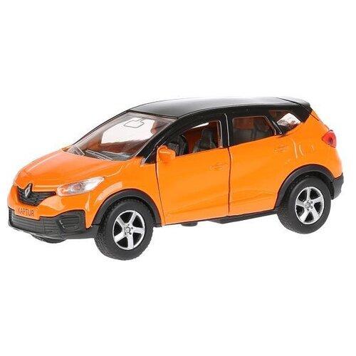 Легковой автомобиль ТЕХНОПАРК Renault Kaptur 1:36, 12 см, оранжевый легковой автомобиль технопарк renault kaptur 1 36 12 см оранжевый
