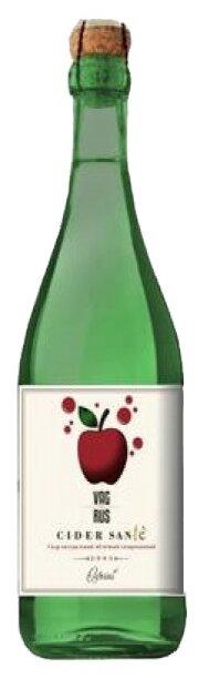 Сидр Vagrus Cider Sante яблочный полусладкий 0.75 л