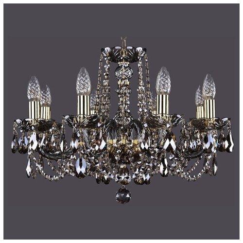 Люстра Bohemia Ivele Crystal 1402/8/195/G/M731, E14, 320 Вт