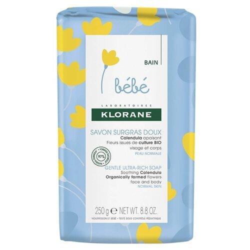 Klorane Нежное питательное детское мыло, 250 г