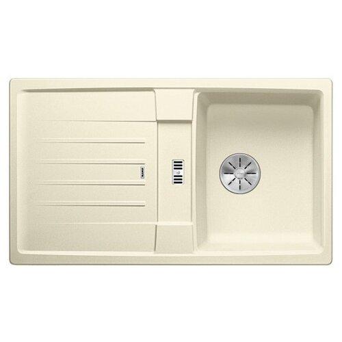 Врезная кухонная мойка 86 см Blanco Lexa 45S Silgranit PuraDur жасмин blanco lexa 8s silgranit антрацит