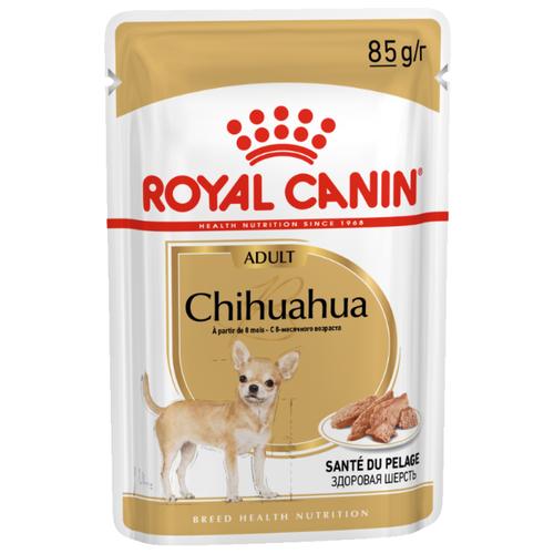 Корм для собак Royal Canin (0.085 кг) 12 шт. Chihuahua Adult (паштет)Корма для собак<br>
