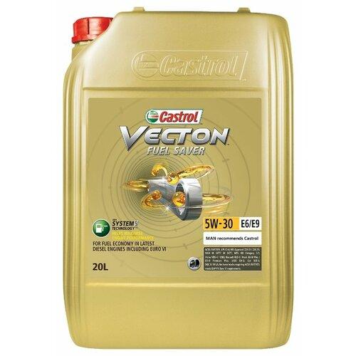 Моторное масло Castrol Vecton Fuel Saver 5W-30 E6/E9 20 л