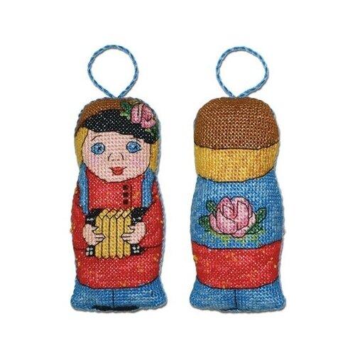 Купить PANNA Набор для вышивания Игрушка Ванька с гармошкой 6 х 12 см (ИГ-1187), Наборы для вышивания