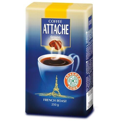Кофе молотый Attache French Roast, 250 г кофе молотый lofbergs medium roast in cup 250 г