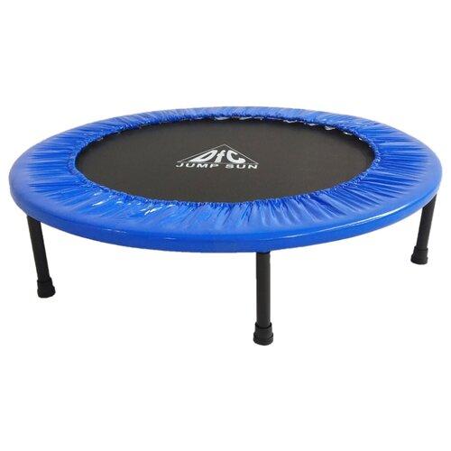 Каркасный батут DFC Jump Sun 40INCH-JS-B 100х100х22.5 см синий каркасный батут dfc jump sun 40inch js b 100х100х22 5 см синий