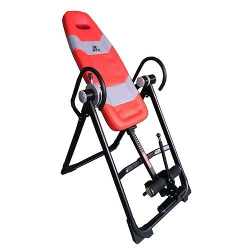 Механический инверсионный стол DFC XJ-CI-01SLR красный/серый/черный тренажер dfc xj ci 01slgr инверсионный стол