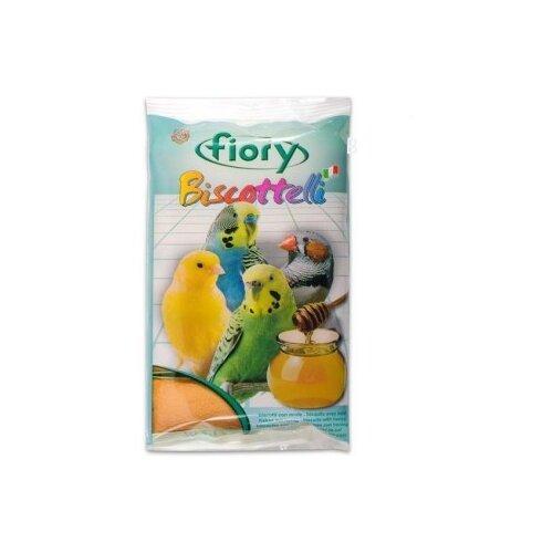 Лакомство для птиц Fiory Biscottelli с медом (02000) 30 г fiory fiory бисквиты для грызунов biscottelli с ягодами 35 г