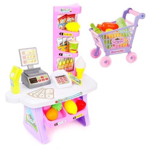 Купить Магазин Jia Huan Long Toys Ice Shop Cream Dessert (666-136), Играем в магазин
