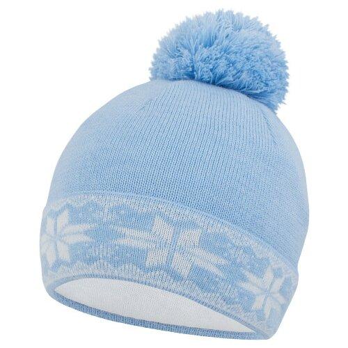 Шапка Prikinder размер 52-54, голубой шапка бини prikinder размер 52 54 джинса