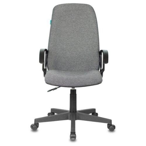 Компьютерное кресло Бюрократ CH-808LT для руководителя, обивка: текстиль, цвет: серый