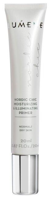 Lumene Nordic Chic праймер для макияжа лица увлажняющий придающий сияние Moisturizing & Illuminating Primer 20 мл