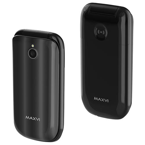 Телефон MAXVI E3 Radiance черный телефон