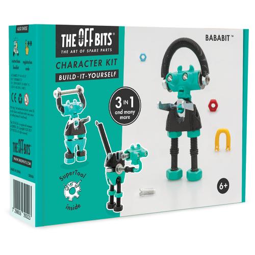 Купить Винтовой конструктор The Offbits Character Kit OB0306 BabaBit, Конструкторы