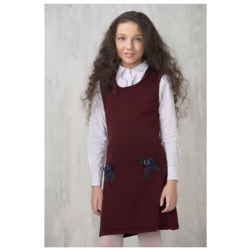 Сарафан VAY размер 158, бордовый платье vay vay mp002xw16d86