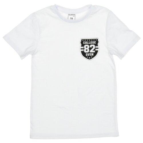 Купить Футболка Elaria размер 152, белый, Футболки и майки