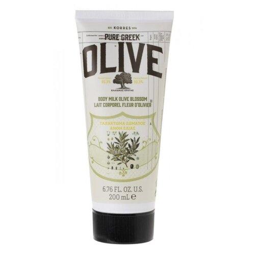 Молочко для тела KORRES Pure Greek Olive Body milk Olive Blossom, 200 мл молочко для тела korres korres ko003lwvsl47