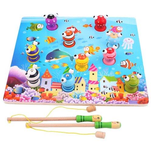 Фото - Рыбалка Наша игрушка Океан разноцветный интерактивная игрушка наша игрушка рыбалка от 3 лет синий m7203