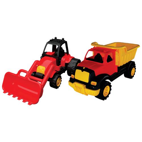 Набор машин Terides Грузовик и Бульдозер (Т8-014)