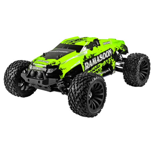 Монстр Трак 1/9 4WD (Бесколлекторный, 3200мАч, Lipo, 2.4G) Зеленая