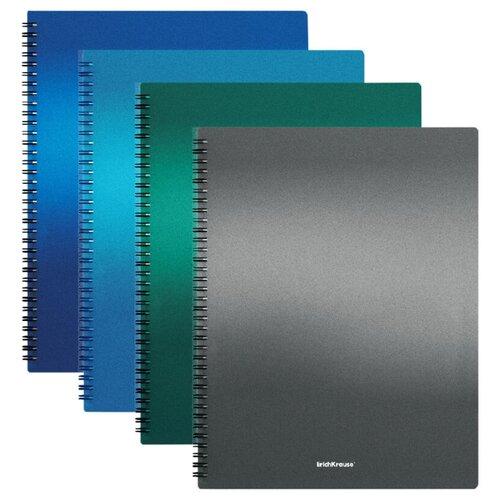 Фото - ErichKrause Папка файловая с 40 карманами на спирали Metallic А4 разноцветный erichkrause папка файловая с 40 карманами на спирали metallic а4 разноцветный
