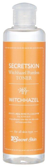 Купить Secret Skin Тонер с экстрактом гамамелиса Witchhazel Poreless 250 мл по низкой цене с доставкой из Яндекс.Маркета (бывший Беру)
