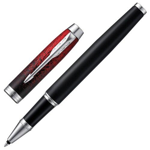 PARKER ручка-роллер IM Premium SE Red Ignite, черный цвет чернил цена 2017