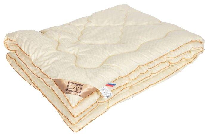 Одеяло АльВиТек Модерато, очень теплое, 200 х 220 см (сливочный)