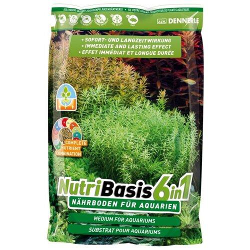 Грунт Dennerle NutriBasis 6in1, 4.8 кг бежевый/черный
