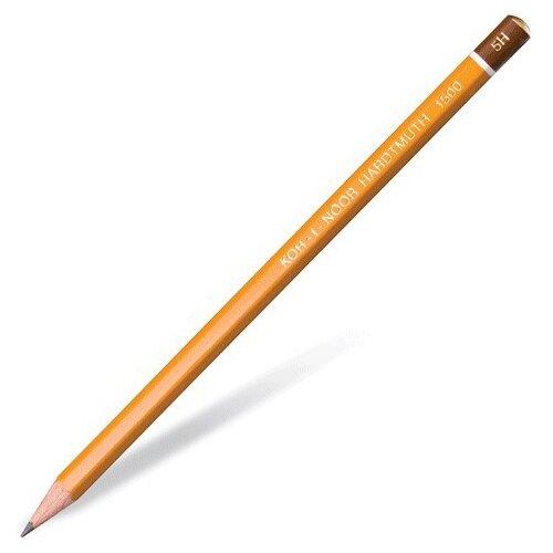 KOH-I-NOOR Чернографитный карандаш 1500 1 шт (150005H01170) koh i noor чернографитный карандаш 8971 2b 1 шт 897102b005kk