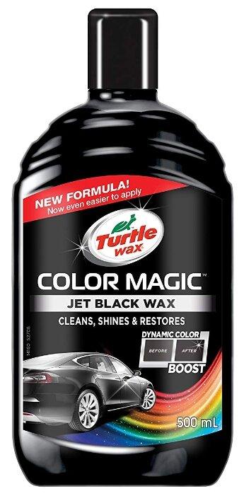 Воск для автомобиля TURTLE WAX полироль Color Magic Jet Black Wax