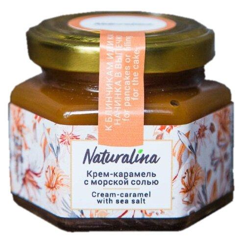 Сгущенка Naturalina Крем-карамель с морской солью 33%, 100 г