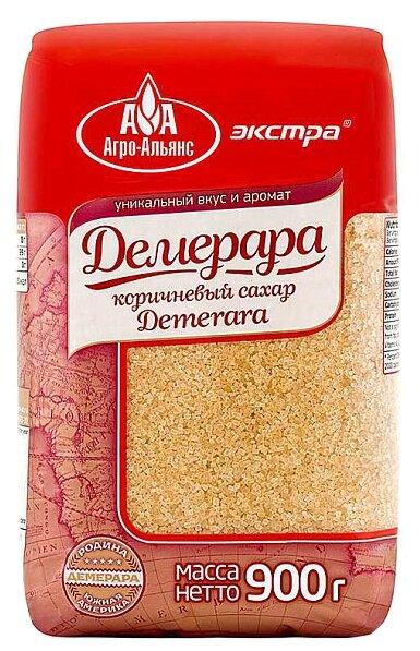 Сахар Агро-Альянс Демерара коричневый сахар-песок