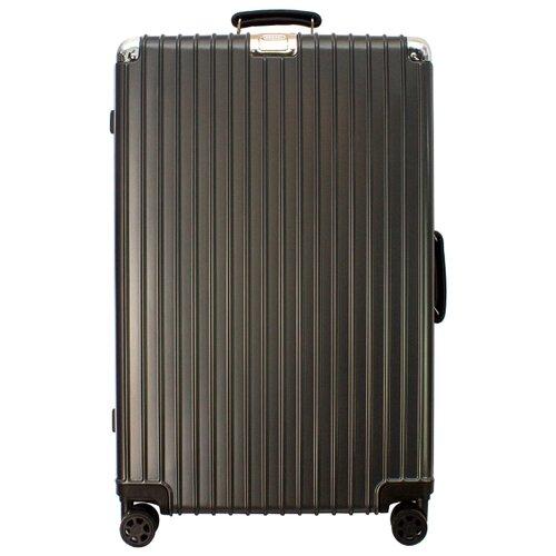 Чемодан PROFFI Business Gentleman L 108 л, графит чемодан proffi business lady m 63 л розовый