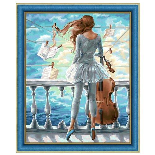 Купить Алмазная живопись Набор алмазной вышивки Вдохновение (АЖ-1600) 40х50 см, Алмазная вышивка