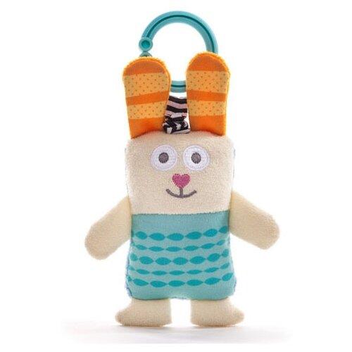 Купить Подвесная игрушка Taf Toys Зайчик Рони (11845) голубой/бежевый, Подвески