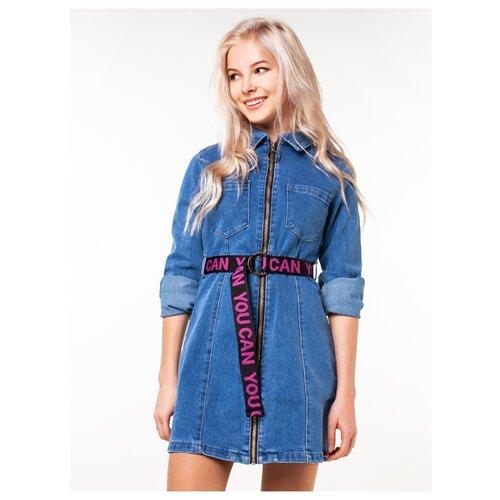 Купить Платье Orby размер 164, синий, Платья и сарафаны