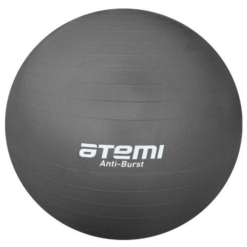 Фитбол ATEMI AGB-04-85, 85 см серый фитбол atemi agb 01 55 55 см салатовый