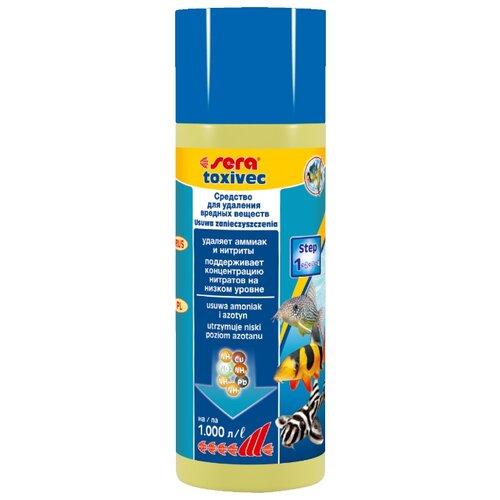 Sera Toxivec средство для профилактики и очищения аквариумной воды, 250 мл кондиционер для воды sera toxivec 100мл