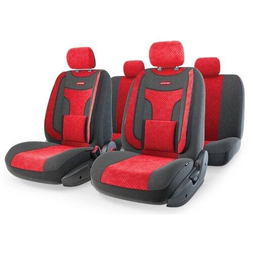 Комплект чехлов AUTOPROFI ECO-1105 красный/черный ремкомплект autoprofi rem 30 master