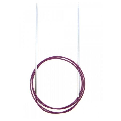 Купить Спицы Knit Pro Nova Metal 11335, диаметр 3.5 мм, длина 25 см, розовый/серебристый
