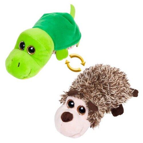 Мягкая игрушка ABtoys Вывернушка Ёжик-Черепаха 8 см мягкая игрушка вывернушка 40 см 2в1 тигр черепаха