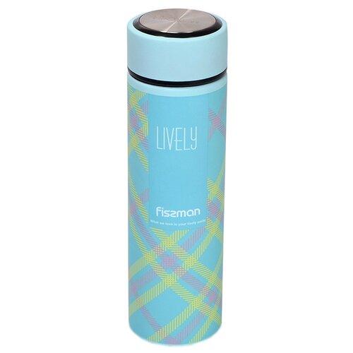 Классический термос Fissman 9746, 0.5 л голубой