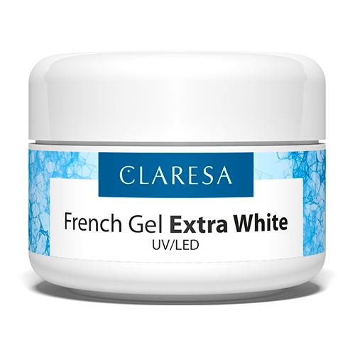 Краска гелевая CLARESA UV/LED French Gel Extra White по цене 486