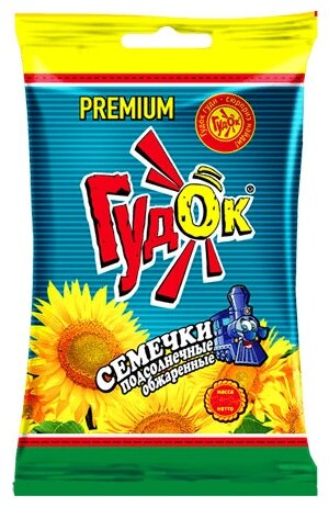 Семена подсолнечника Гудок Premium обжаренные 200 г
